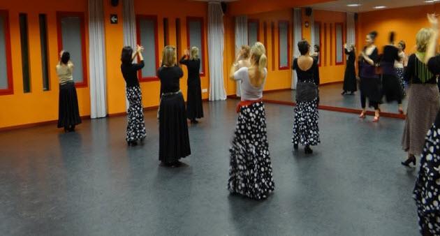 suelo acústico clases de flamenco